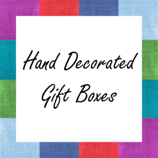Hand Decorated Gift Boxes
